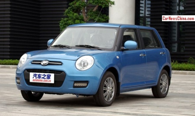 Lifan 330 hits the China car market