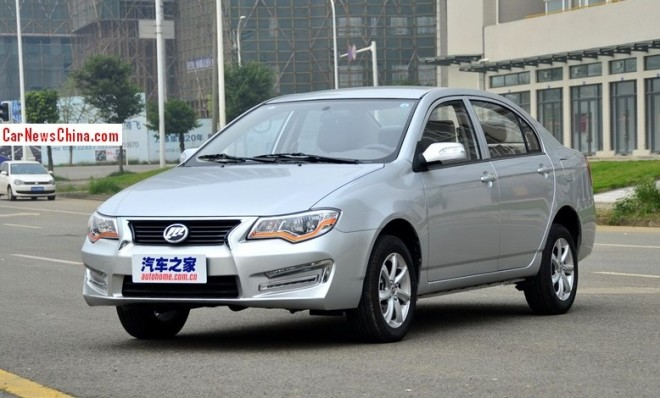 Lifan 630 launched on the China car market