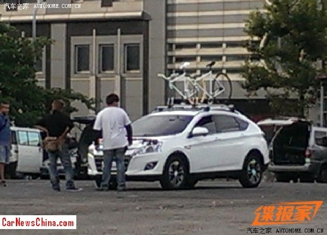 Spy Shots: Luxgen U5 SUV is Naked in Taiwan