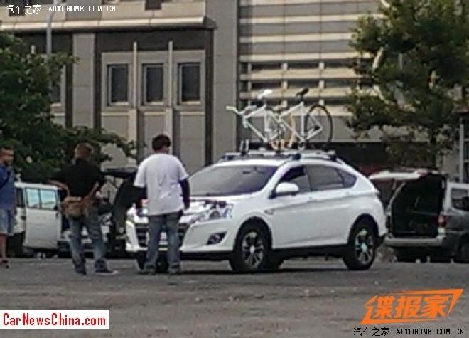 Spy Shots: Luxgen U5 SUV is Naked in Taiwan