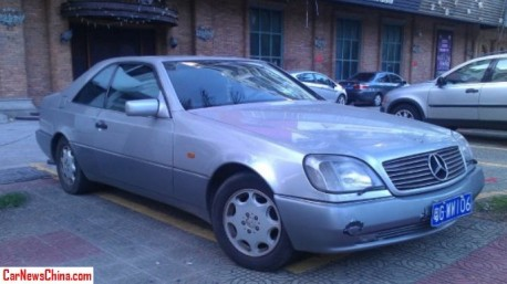 Spotted in China: C140 Mercedes-Benz CL600