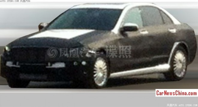 Spy Shots: 2014 Mercedes C-Class goes Stretched for China
