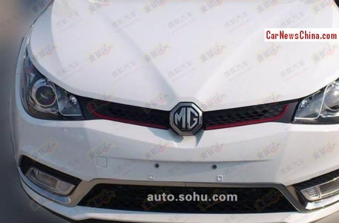 Spy Shots: MG5 Turbo seen testing in China again