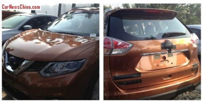 Spy Shots: 2014 Nissan X-Trail pops up in China