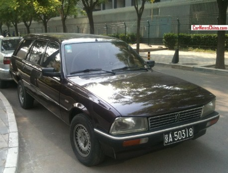 Spotted in China: Peugeot 505 SW8 '200 Anniversary Edition'