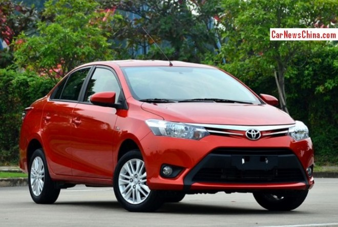 New Toyota Vios will hit the China car market on November 6