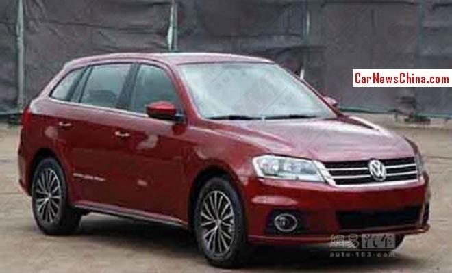 Spy Shots: Volkswagen Grand Lavida Sport is Naked in China