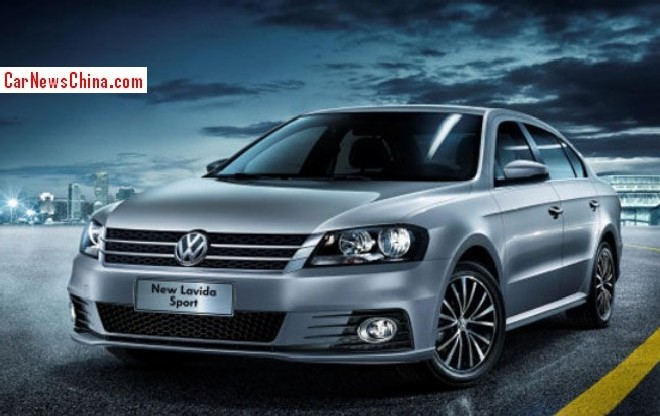 Volkswagen Lavida Sport will debut on the Guangzhou Auto Show