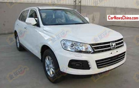 Spy Shots: Zotye T600 SUV is Ready to hit the Chinese car market