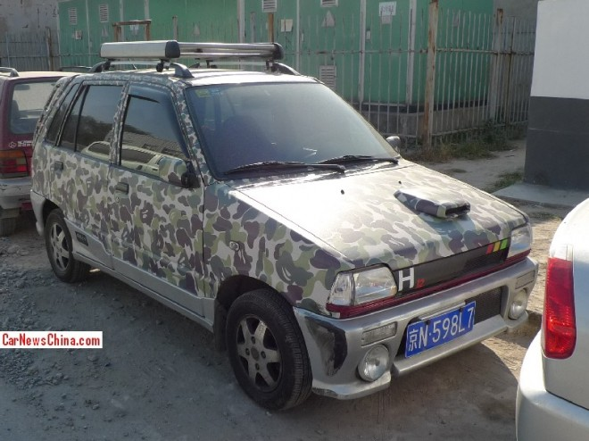 Suzuki Alto Happy Prince goes BAPE in China