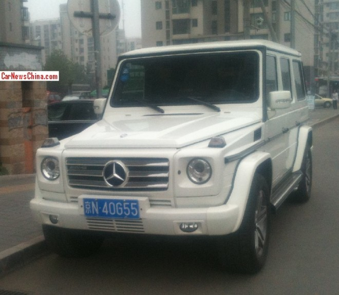 Mercedes-Benz G55 AMG has a License in China