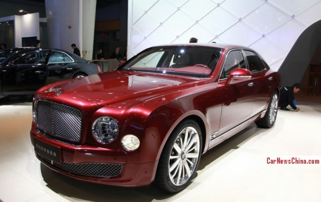 Bentley Mulsanne Four Seasons Edition arrives at the Guangzhou Auto Show