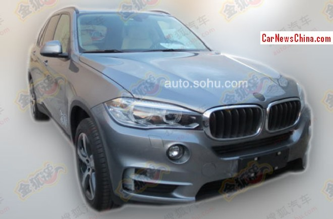 New BMW X5 will debut in China on the Guangzhou Auto Show