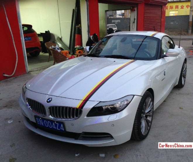 BMW Z4 has a License in China