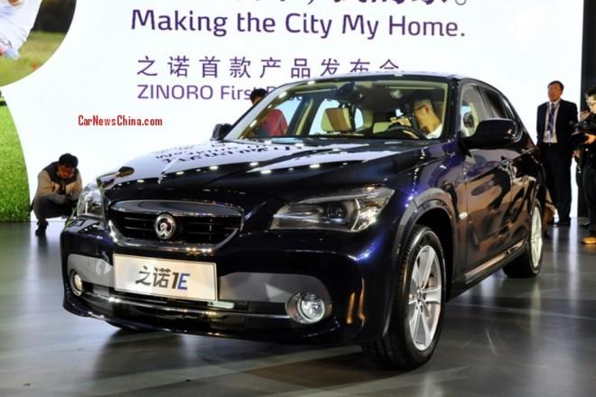 Brilliance-BMW Zinoro 1E EV debuts early at the Guangzhou Auto Show