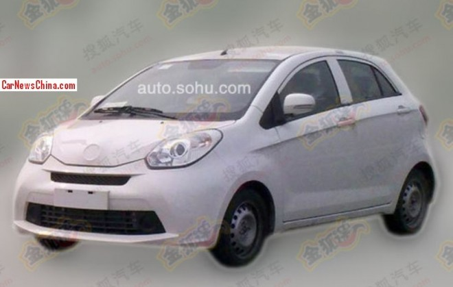 Spy Shots: Brilliance H120 'CaCa' testing in China