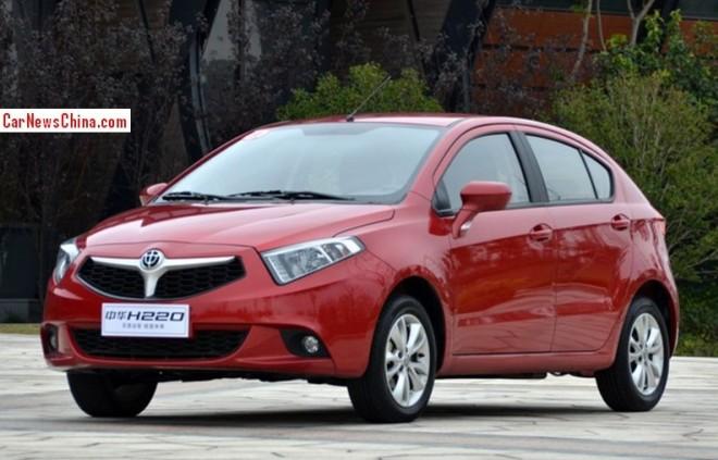 Brilliance H220 hatchback hits the China car market