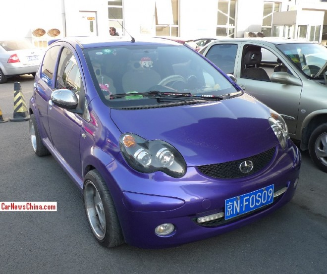 BYD F0 is a Scion in China