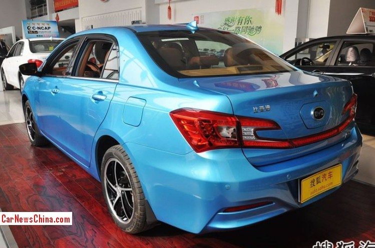 2014 Byd Qin Hybrid Arrives At The Dealer In China