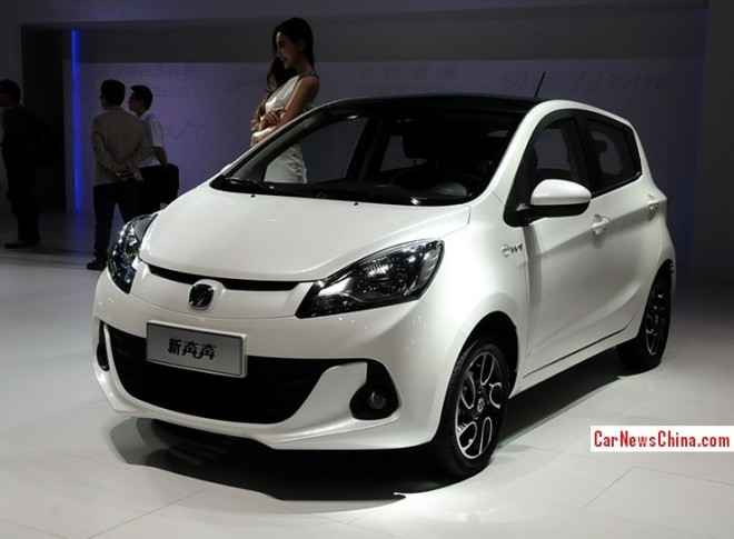 Changan BenBen debuts on the 2013 Guangzhou Auto Show
