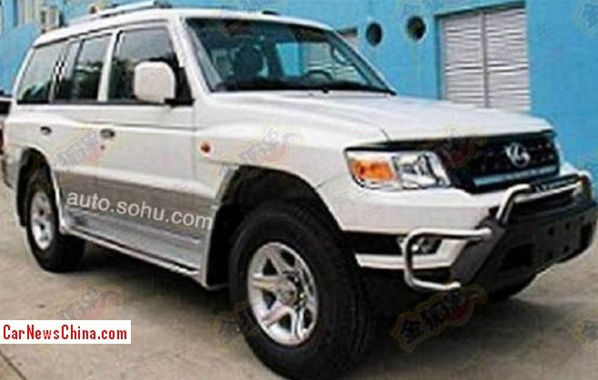 Spy Shots: Changfeng Liebao Heijin Q6 is Ready for the China car market