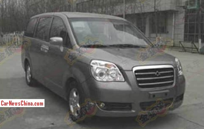 Spy Shots: Chery B13 MPV is going Army-only in China