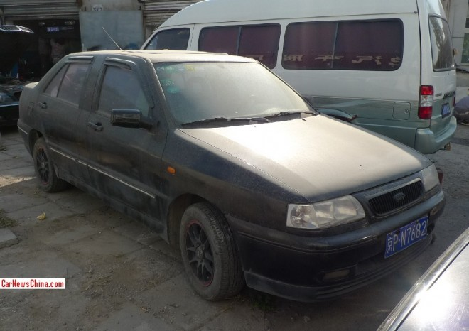 Spotted in China: the stretched Chery Fengyun SQR7160 EL