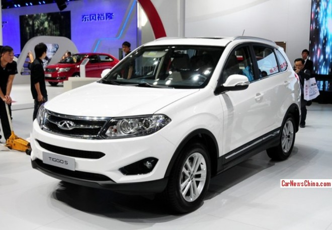 Chery Tiggo 5 debuts at the 2013 Guangzhou Auto Show