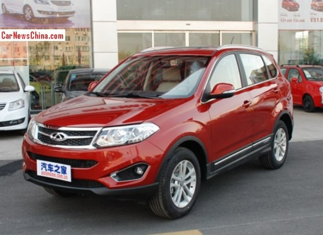 Chery Tiggo 5 launched on the China car market