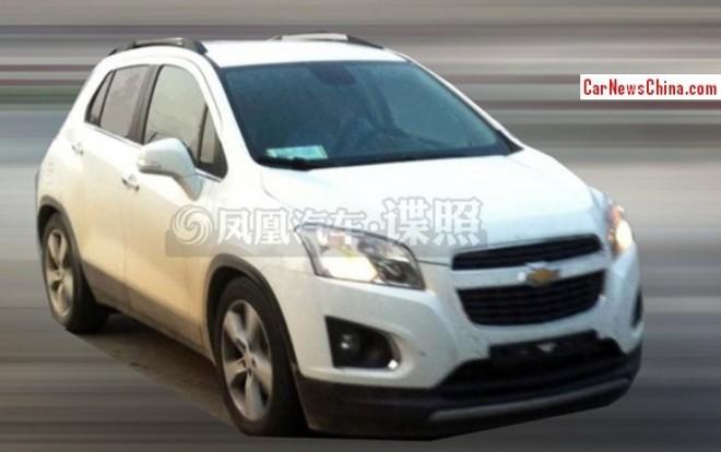 Spy Shots: Chevrolet Trax seen testing in China