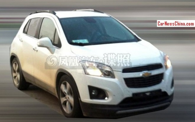 Spy Shots: Chevrolet Trax seen testing in China