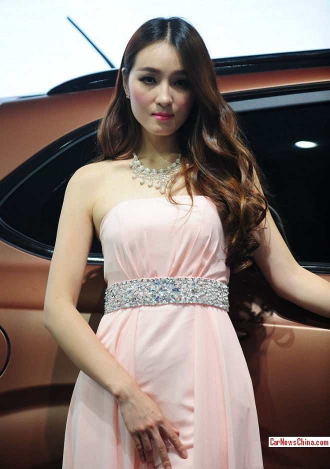 The China Car Girls @ the 2013 Guangzhou Auto Show, Second Load