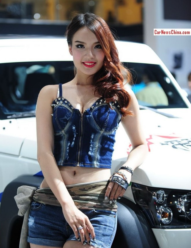 The China Car Girls @ the 2013 Guangzhou Auto Show, First Load