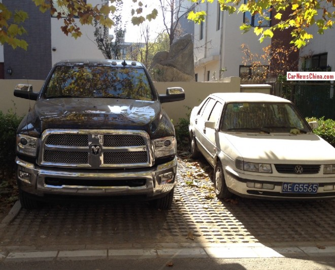 Spotted in China: Dodge RAM 3500 Laramie Longhorn Edition