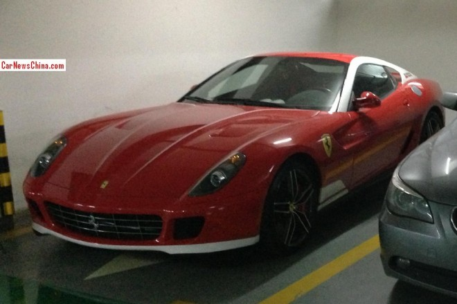 Spotted in China: Ferrari 599 GTB HGTE 60F1 'Alonso Edition'