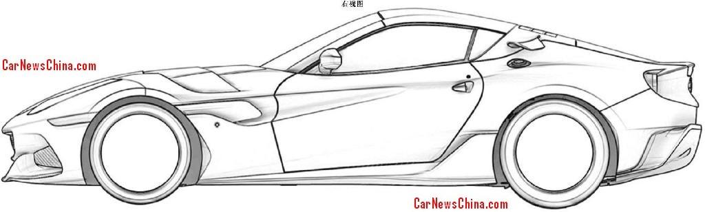 Ferrari Side View Drawings Ferrari Hasn't Said Anything