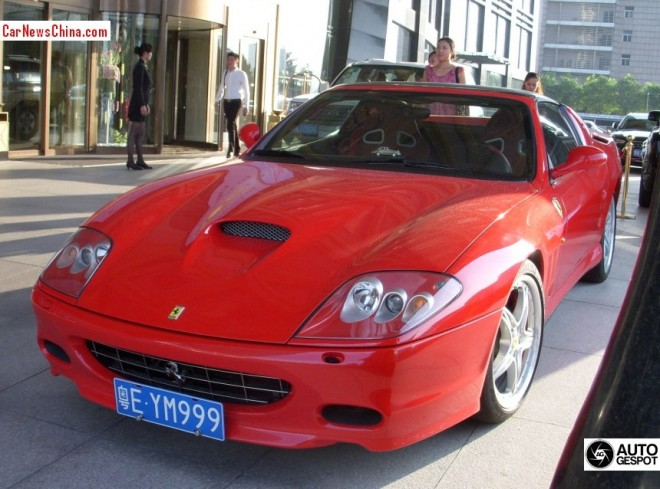Spotted in China: Ferrari 575M Superamerica