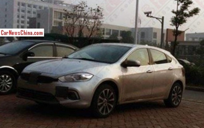 Spy Shots: Fiat Viaggio hatchback is Naked in China