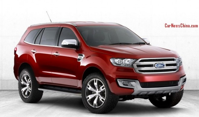 Ford Everest will be made in China from 2015