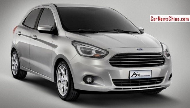 Ford will launch low-budget car in China in 2014
