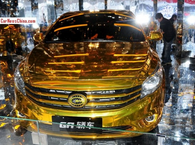 Gonow GA Sedan concept leaves us Dizzy at the Guangzhou Auto Show
