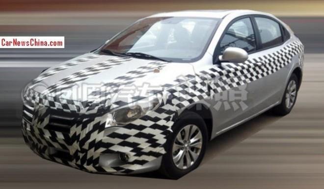 Spy Shots: new Gonow sedan seen testing in China