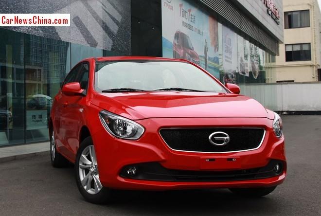 Guangzhou Auto Trumpchi GA3 will spawn Five new cars in China
