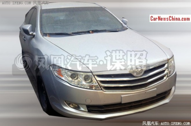 Spy Shots: another facelift for the Trumpchi GA5 sedan in China