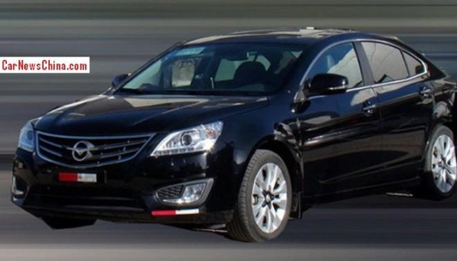 Spy Shots: Haima M8 sedan is Ready for the China car market