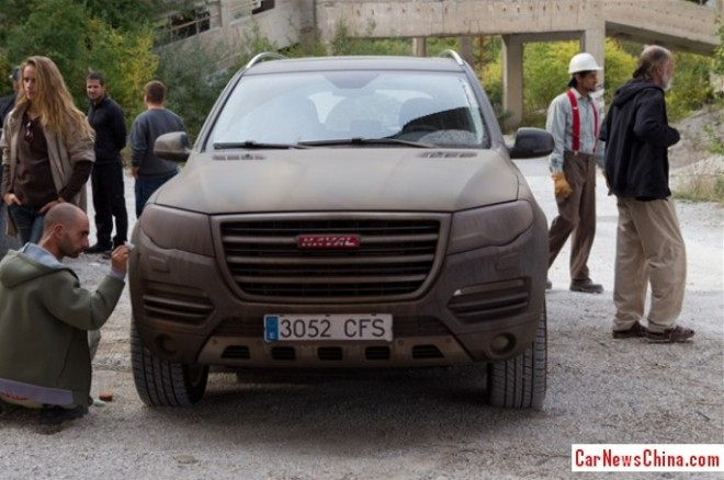 Haval H8 to star in  Expendables 3 movie