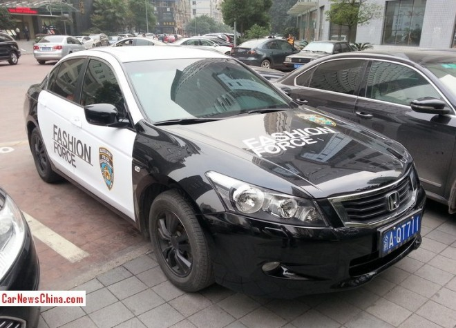 Honda Accord is the Fashion Force in China