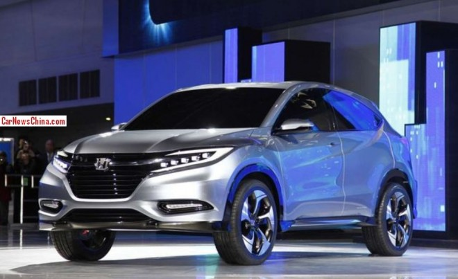 Honda Urban SUV will be built in China from 2014