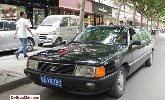 China Car History: the Audi-based Hongqi CA 5020 XBYA stretched wagon