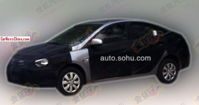 Spy Shots: facelifted Hyundai Verna seen testing in China